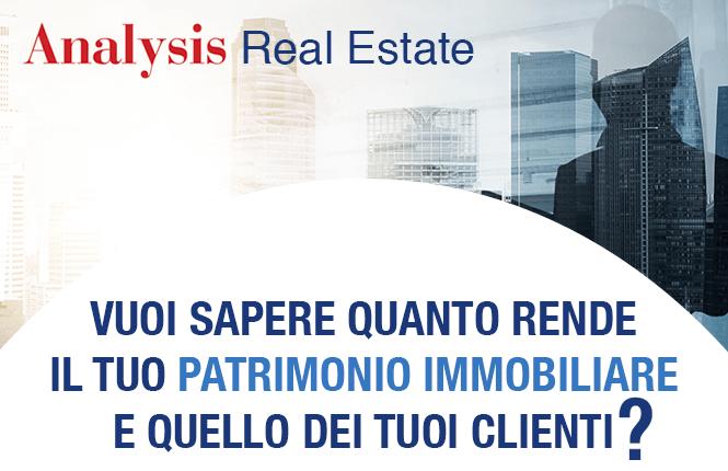 Vuoi sapere quanto rende il tuo patrimonio immobiliare e quello dei tuoi clienti?
