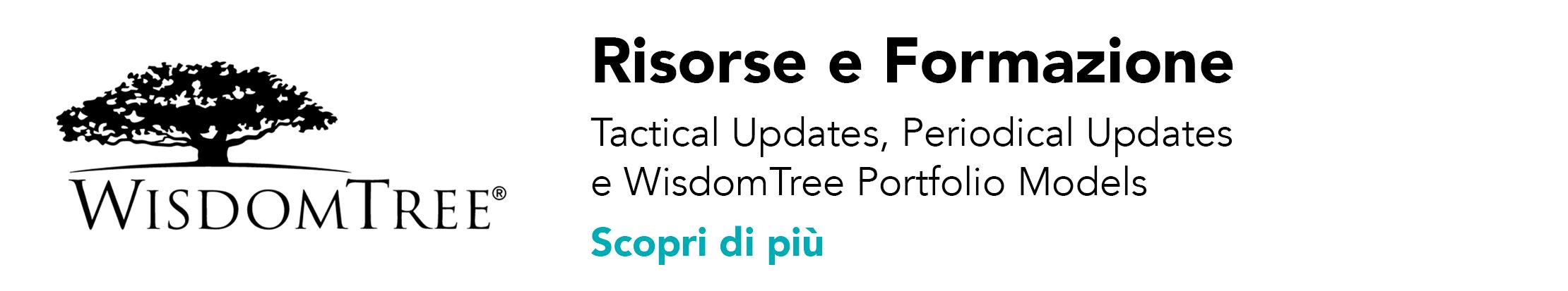 WisdomTree: Risorse e formazione