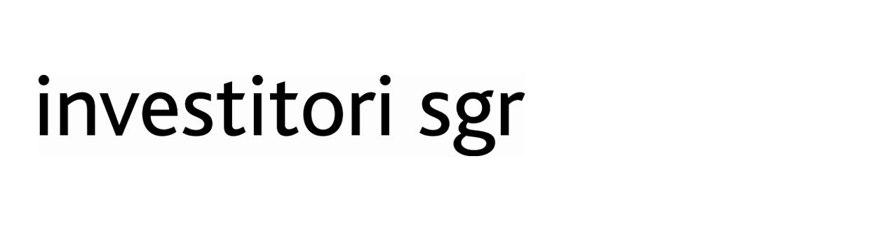 Investitori SGR S.p.A.