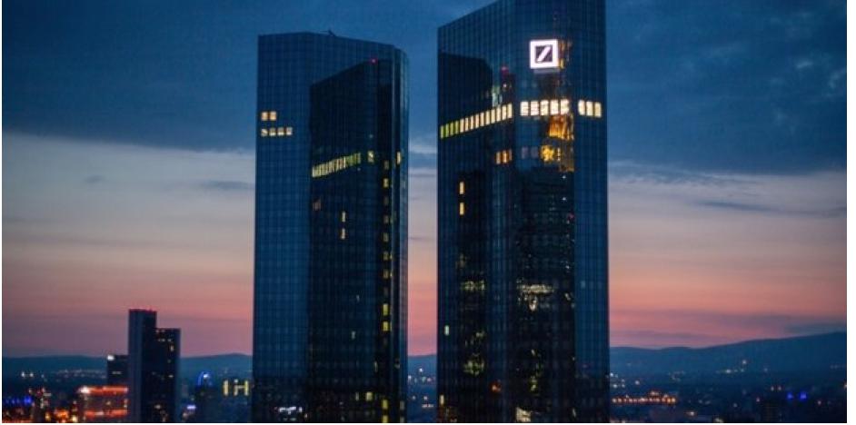 grattacieli della sede di Deutsche Bank a Francoforte